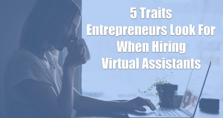 5 traits of virtual assistants